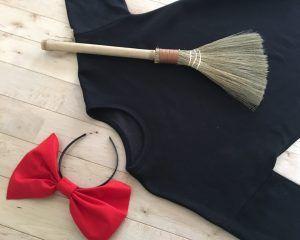 ハロウィンに手作り衣装で仮装をしよう②♪100均diy ♪魔女の宅急便キキの自作コスチュームの作り方。Happy Halloween♪