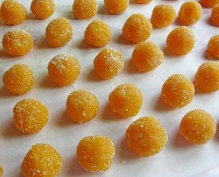 palline di bucce di arancia