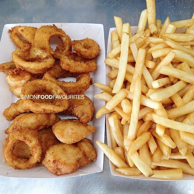 @ Maroubra Saltwater Seafood #Calamari