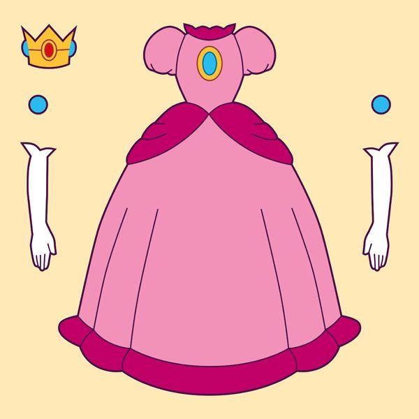 Princess Peach Do-It-Yourself Kit