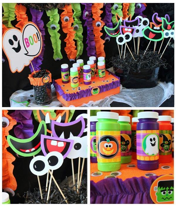 Elementos para decorar tu fiesta de hallowen, Especial Halloween kids