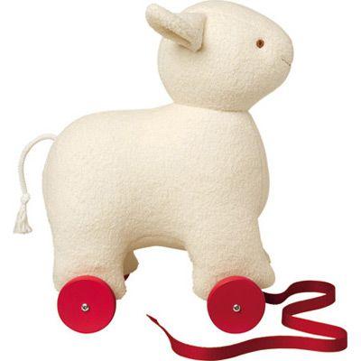 Un adorable mouton à tirer pour bouger et explorer !! A partir de 12 mois.