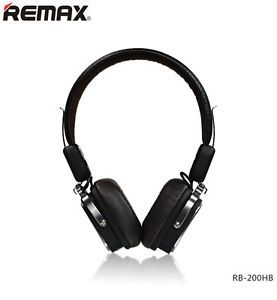 Remax Bluetooth 4.1 Wireless Headphones 200HB On-Ear-Kopfhörer schwarz OVP