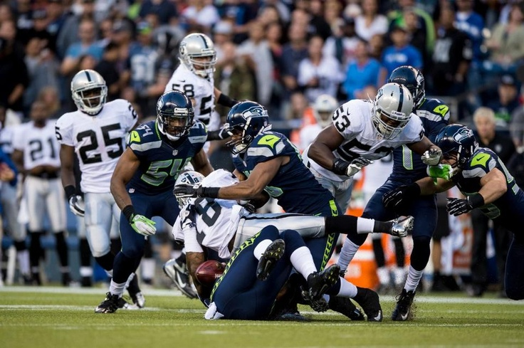 Seahawks vs. Raiders