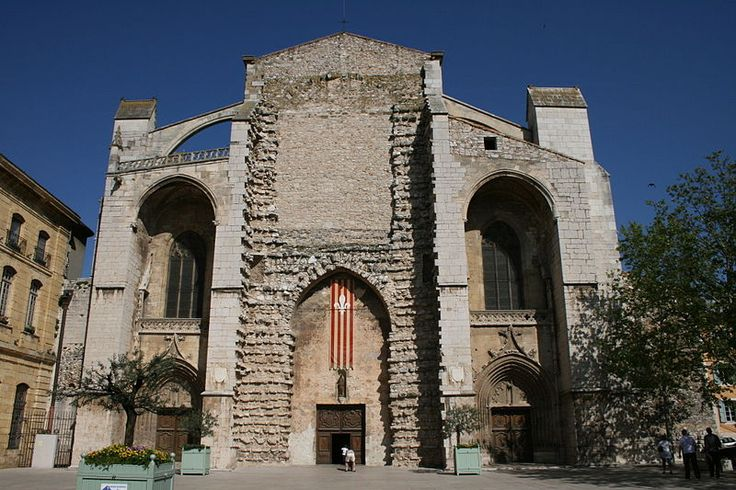 File:Basilique Sainte-Marie-Madeleine de Saint-Maximin-la-Sainte-Baume portail.JPG