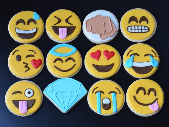 emoji cookies for sale