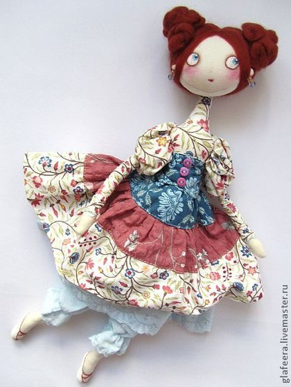 Collectible handmade dolls. Fair Masters - handmade Konchitttta! Interior…