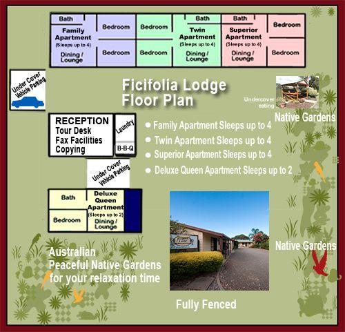 Ficifolia Lodge - Luxury Holiday Accommodation in Kangaroo Island.