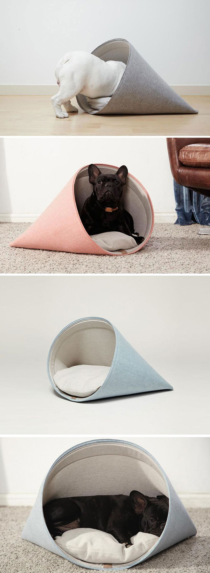 Design eco-friendly per #pet lovers! Cucce per gatti (e per cani) con un occhio… (Diy Dog Stuff)