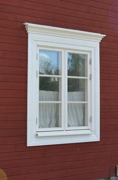 Fönster karm