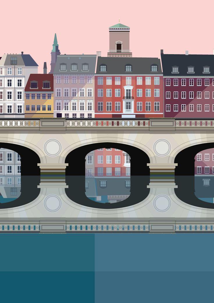Stormbroen Copenhagen illustration #Sivellink
