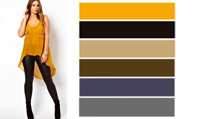 Cómo combinar prendas color mostaza