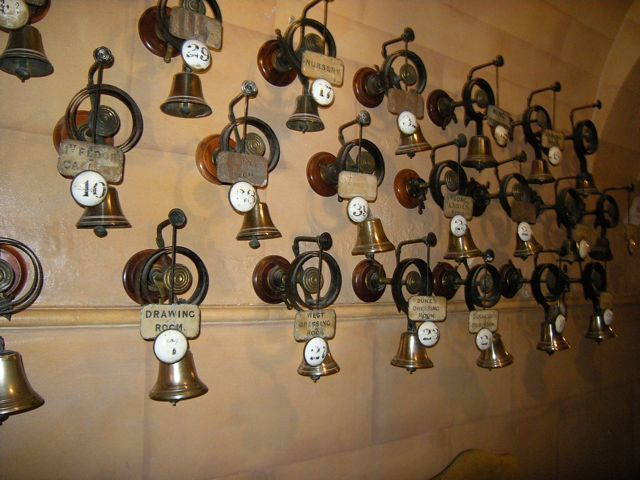 Great The Bells In The Servantsu0027 Quarters. ( Cliveden, Once Home To The Astor