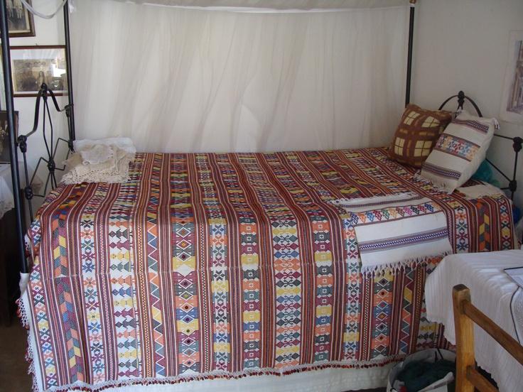 Large Phitiotika bedspread