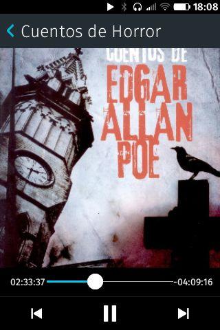 De mis autores favoritos, el audio libro de loc cuentos de horror de Edgar Allan Poe