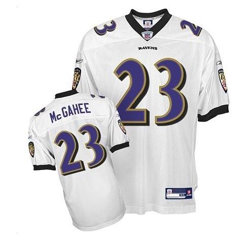 Reebok NFL Jersey Baltimore Ravens Willis Mcgahee #23 White $25.00
