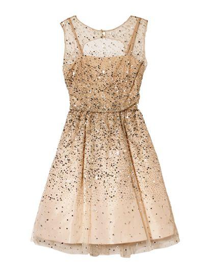 Glitter Party Dress / Alice + Olivia