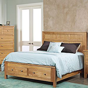 Cottage Cherry Storage Bed By Ayca Furniture