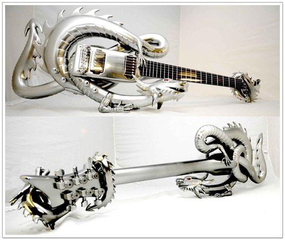 Dragon Guitar: Guitar Design, Custom Guitar, Stuff, Dragon Guitar, Metal, Art, Musical Instruments, Guitars, Electric Guitar