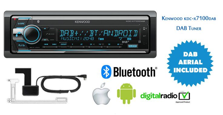 #Kenwood KDC-X7100DAB #DAB #Tuner / #Bluetooth / #USB / #CD Receiver #Stereo