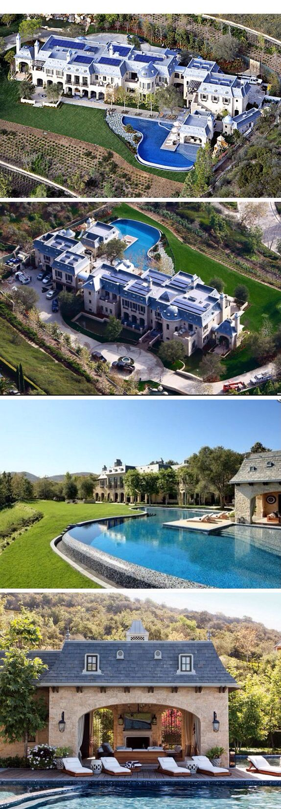 Gisele-bundchen-tom-brady-lists-their home- from the opulentlifestyle@Luxurydotcom:: - Instagram: @AurumForHer
