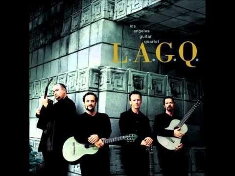 African Suite - Mbira - Los Angeles Guitar Quartet - YouTube