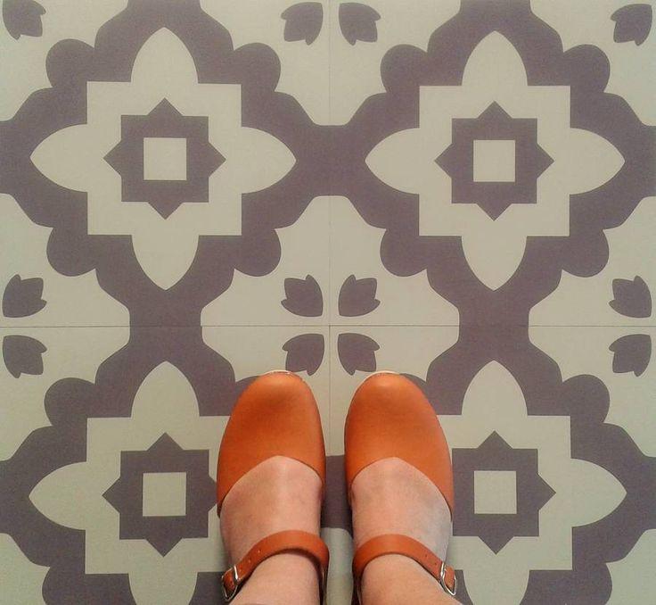 Best Selling Casablanca Grey Vinyl Floor Tilesmorroccan Style Vinyl Floor Tiles Manufactured By And Exclusive To