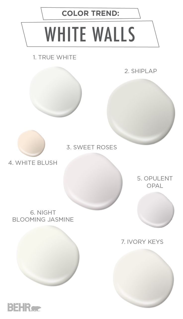 Color trend alert! By keeping the wall color neutral and bright, you can play up your decor pieces and accessories to create a space that is perfectly versatile through the seasons. Check out this collection of beautiful cream shades to find your favorite.