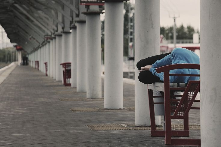 Tramp, Addict, Alcoholic, Station, Homeless, Dream