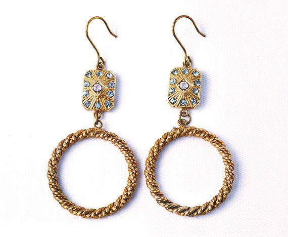 Arianna  Italian vintage jewelry Aquamarine e di SmeraldaVintage