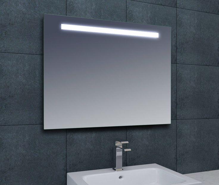 Saqu Pure spiegel met LED verlichting 60x80cm ✓Altijd de goedkoopste ✓Gratis bezorging ✓3 jaar garantie
