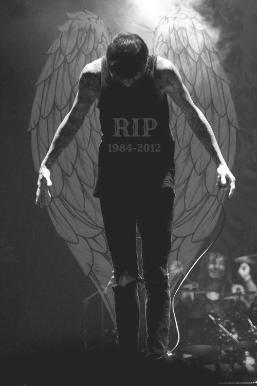 :c Mitch Lucker 1 year today...I miss ya bro