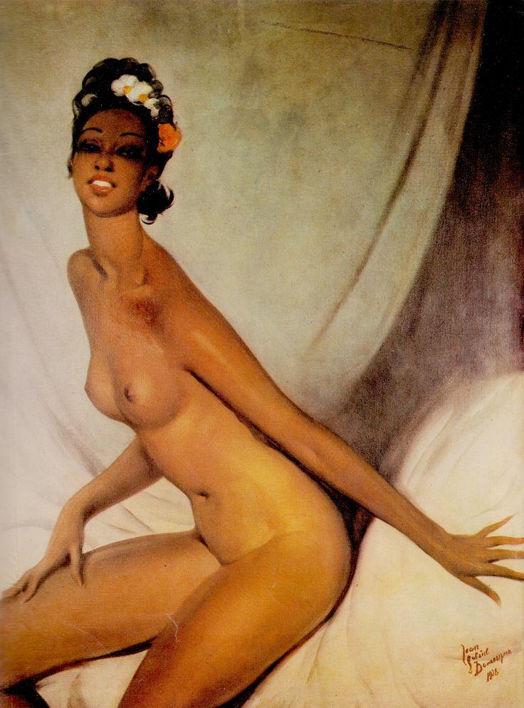 JOSEPHINE BAKER 'THE BLACK VENUS' 1928 by JEAN GABRIEL DOMERGUE from Alan Jernkins 'The Twenties'