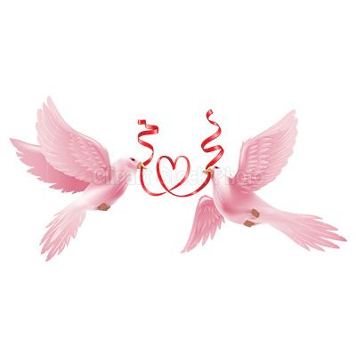 free downloadable wedding clipart   Wedding Dove Clipart Graphic, Royalty Free Love Heart Ribbon Stock ...