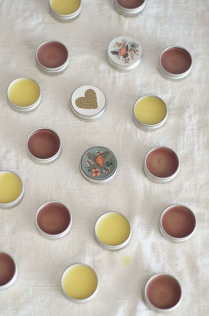 Homemade lipbalm for beginners: Melt and pour. So easy! from @Bonnie S. S. S. Rush {A Golden Afternoon}