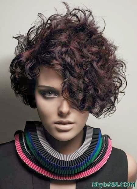 Img0b9a4252cca258dfe212607dffa39303 Super Short Curly Hairstyles For