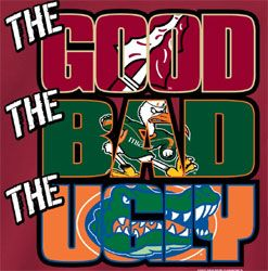 Florida State Seminoles University Football | Florida State Seminoles Football T-Shirts - The Good The Bad The Ugly ...