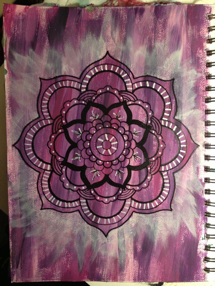 Mandala designs for lotus flower tattoo
