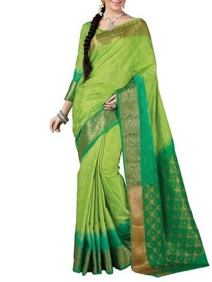 Check out what I found on the LimeRoad Shopping App! You'll love the green Tussar Jacquard Silk saree . See it here http://www.limeroad.com/products/10046772?utm_source=cf8863ad08&utm_medium=android