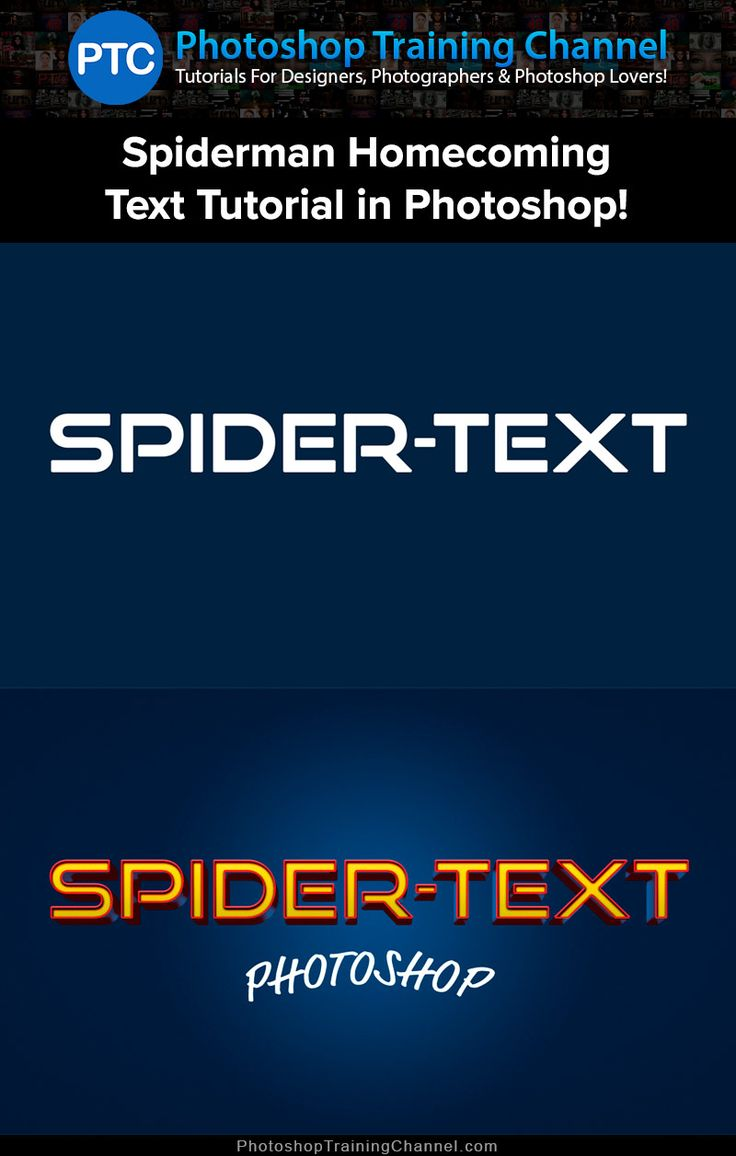 In this tutorial, you will learn to replicate the Spider-Man Homecoming text effect in Photoshop using Layer Styles.