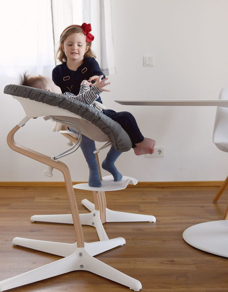 From newborn to teenager. The next generation high chair, Nomi by Evomove. Hochstuhl