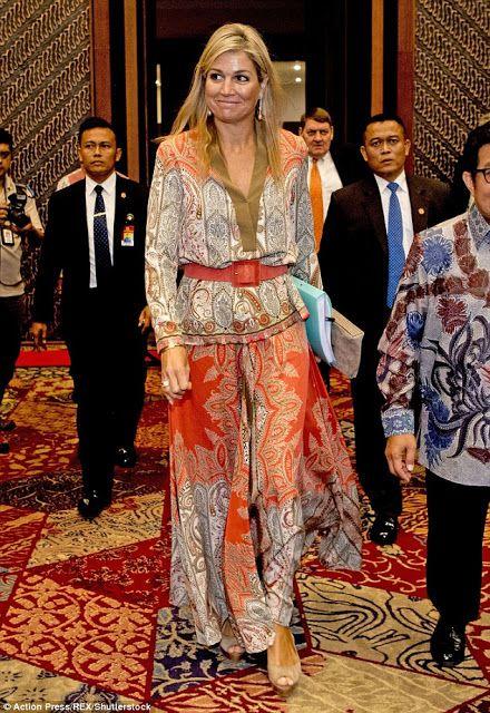 ♥•✿•QueenMaxima•✿•♥. August 2016.. Indonesia