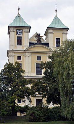 kostel arch.anděla  michaela / Litvínov / Mathey