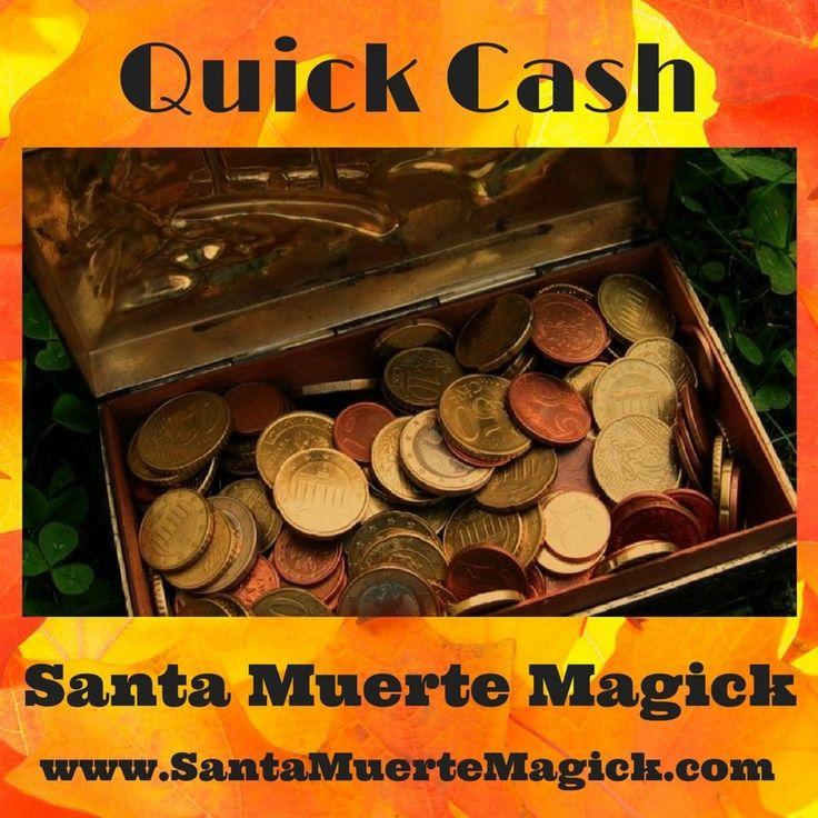 Quick Cash Santa Muerte Magick #QuickCash #SantaMuerte #Magick