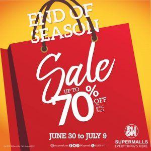 SM End of Season Sale