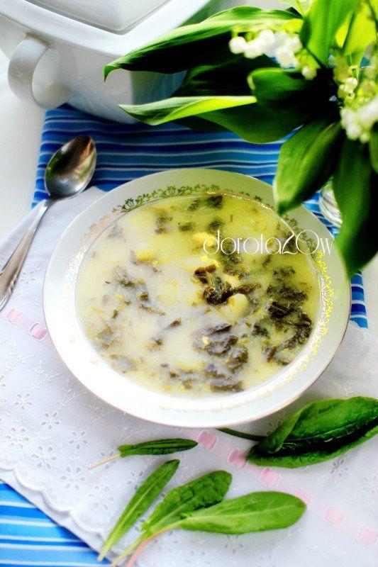 Zupa szczawiowa / Sorrel soup