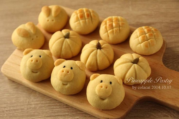 Taiwanese Pineapple Pastry Copyright (c) Colacat