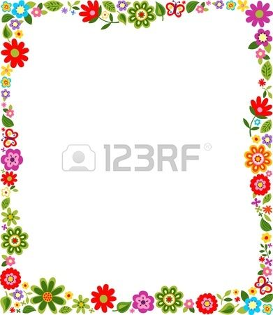 19 Best Images About Frames On Pinterest 629 600 And Floral Border