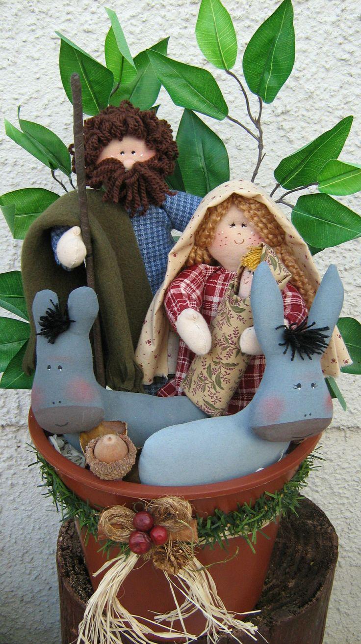 428 best images about natal decora o enfeites riscos on - Estilo sagrada familia ...