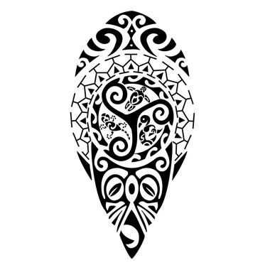 hindu tattoos and meanings | Maori symbols tattoo - Here my tattoo - Find your tattoo online!